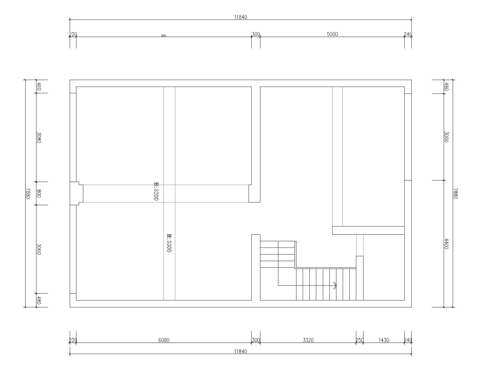 首页 装修公司 蚂蚁设计 装修工地  原始结构图 设计公司 : 蚂蚁空间