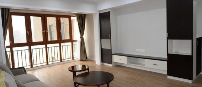 海悦华府150平四房不一样的简约风,看看别人家是怎么将空间最大化使用